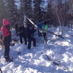 Building the Hide Tent