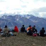 Lunch at the peak