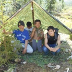 Learning to build shelters